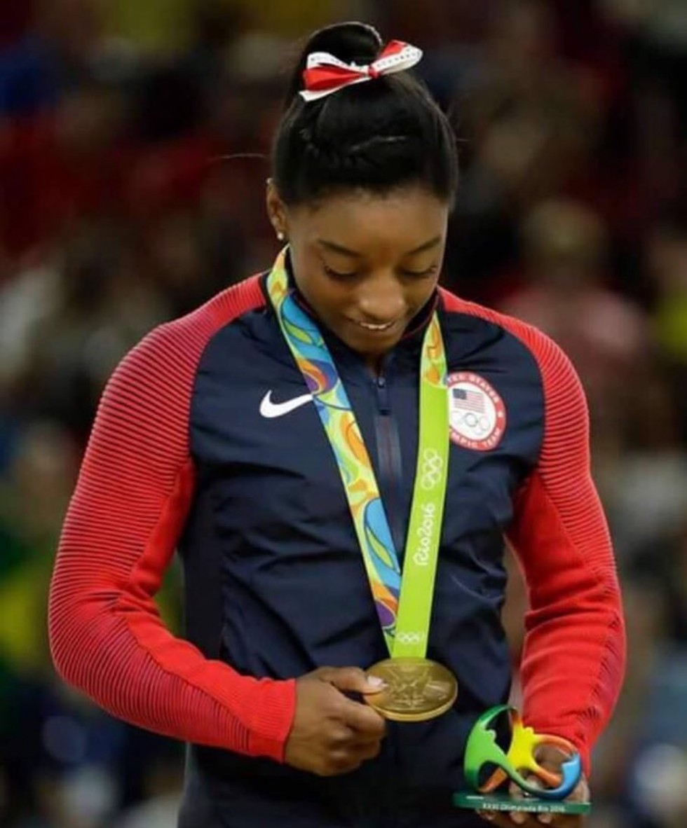 Simone Biles Black Girl magic image