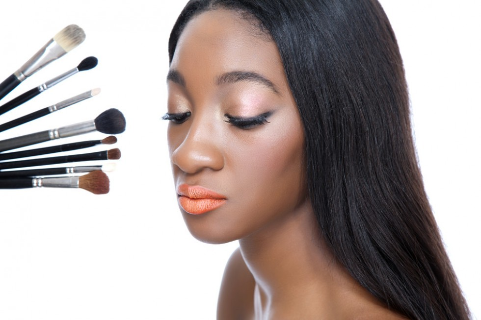Beauty and make up brushes