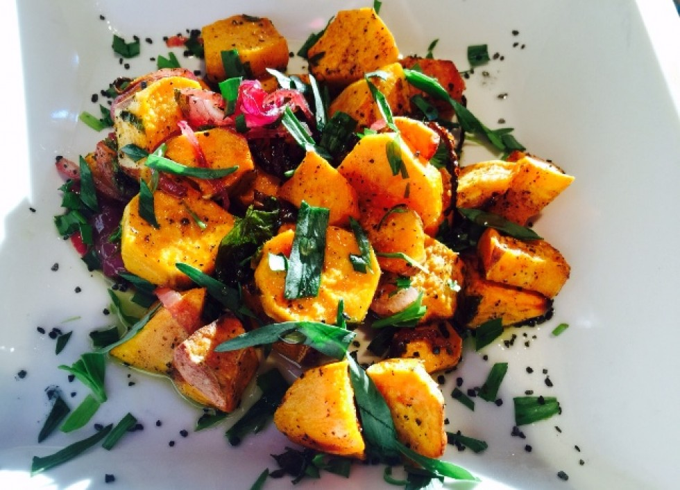 ... sweet potatoes are so much better for you than white potatoes. ENJOY