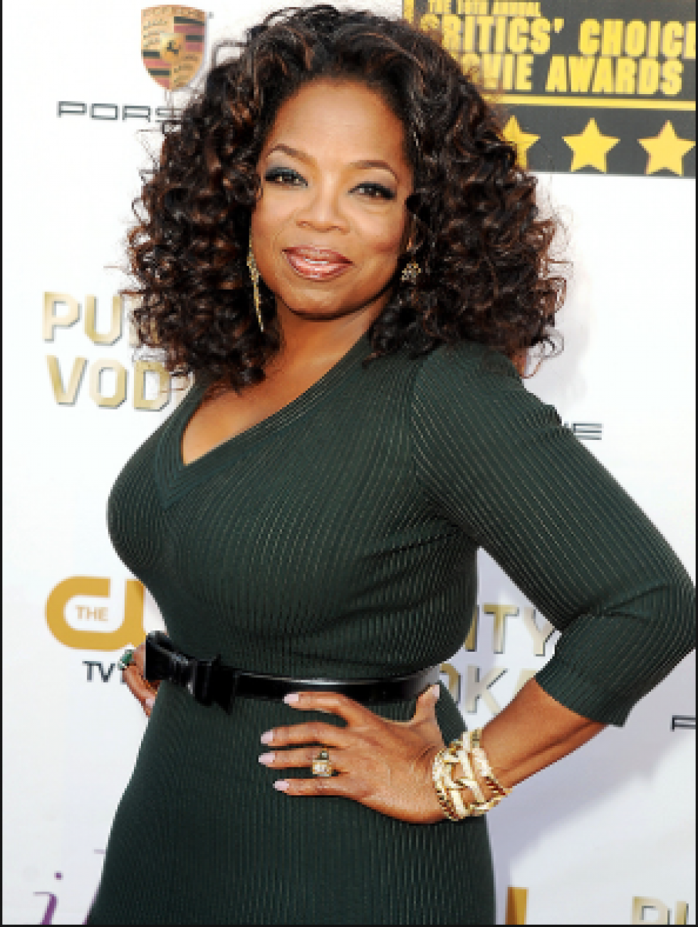 Oprah Winfrey weight loss image
